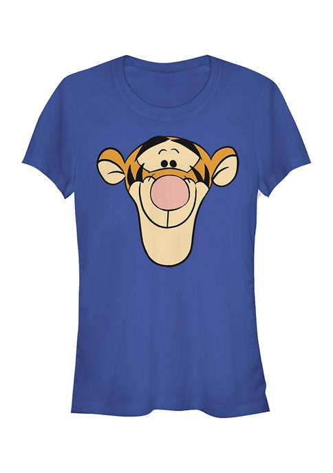 Juniors Licensed Disney Tigger Big Face T-Shirt