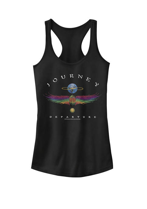 Journey Departure Album Artwork Racerback Graphic Tank