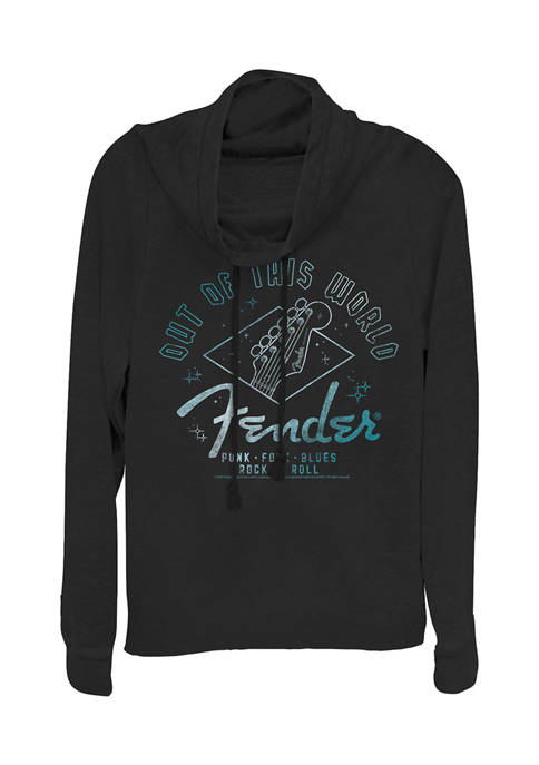 Juniors Out of This World Pullover Graphic Top