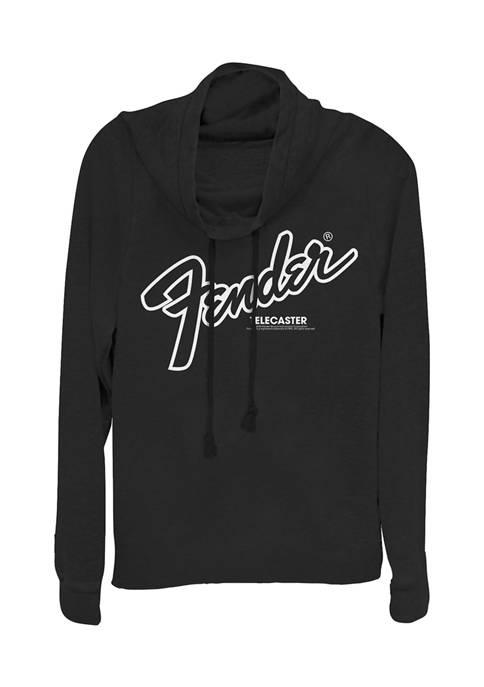 Juniors Oversized Pullover Graphic Top