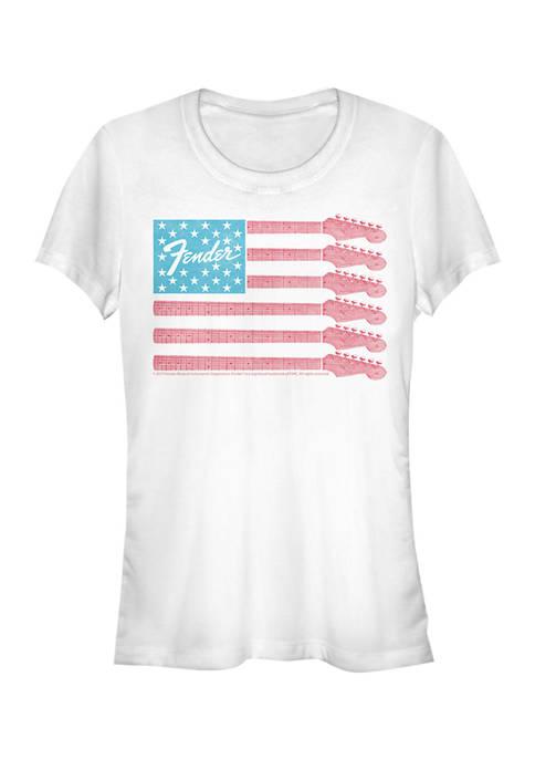 Fender Juniors Guitar Flag Graphic T-Shirt