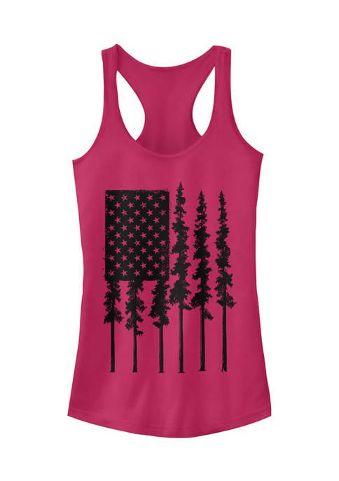 Juniors American Pines Tank Top