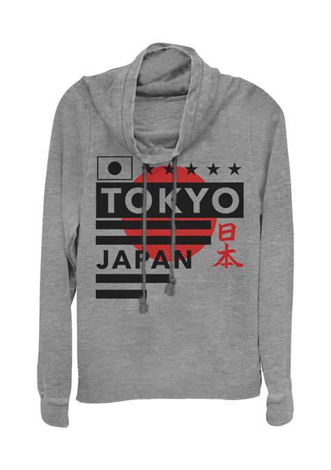 Fifth Sun™ Juniors Japan Minimal Graphic Pullover