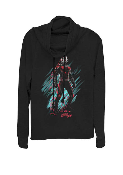 Marvel™ Ant Man Standing Pose Cowl Neck Graphic