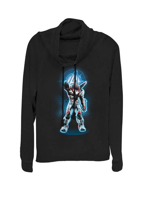 Marvel™ Avengers Endgame Logo War Machine Quantum Suit