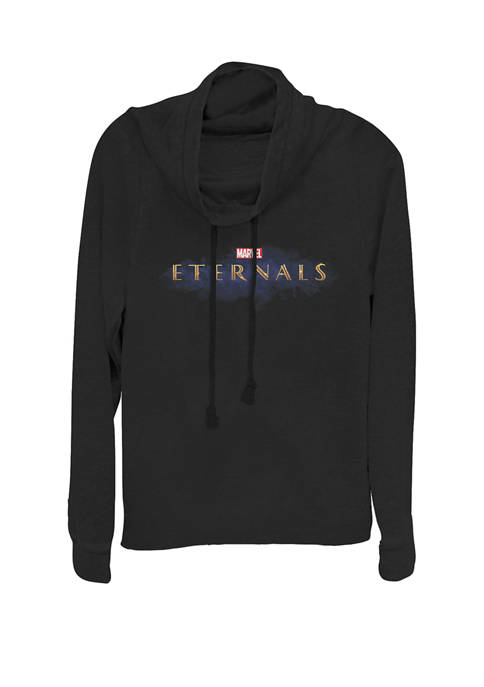 Marvel™ Eternals Official Movie Logo Cowl Neck Pullover