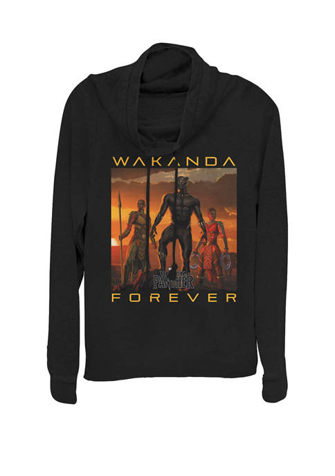 Marvel™ Black Panther Movie Wakanda Forever Cowl Neck