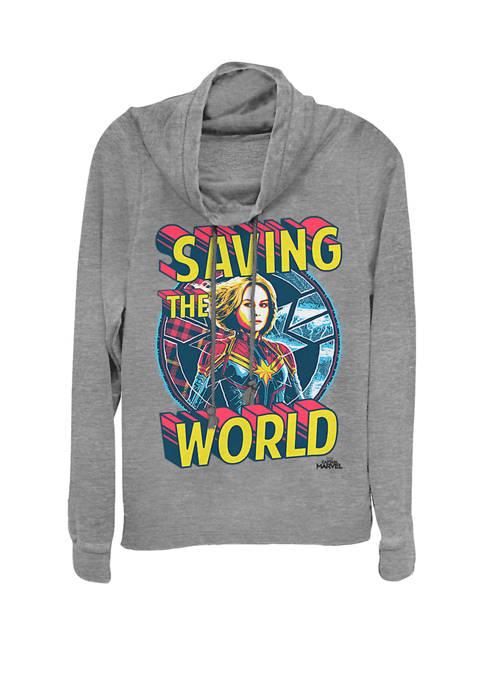 Marvel™ Captain Marvel™ Saving The World Portrait Cowl