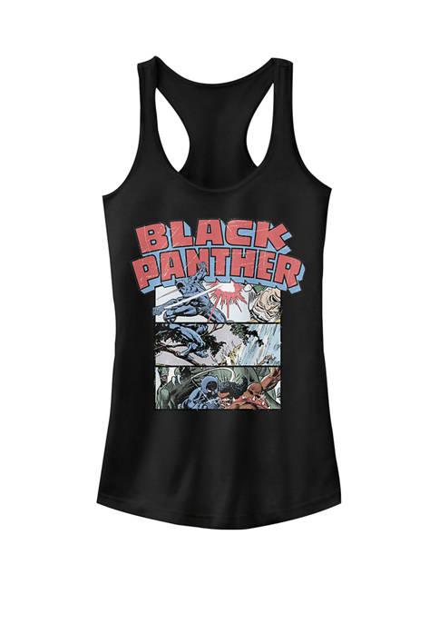 Marvel™ Black Panther Retro Comic Stacked Panel Art