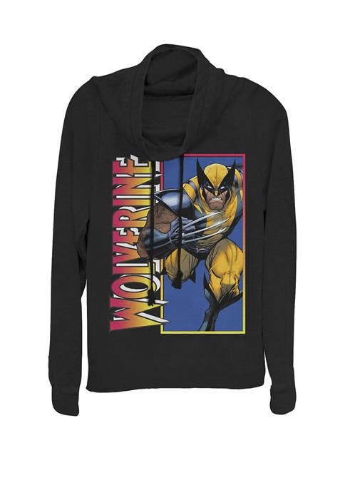 Marvel™ Classic X-Men Wolverine Claw Portrait Cowl Neck
