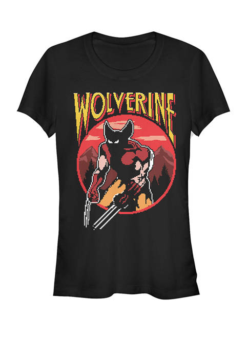 X-Men Wolverine 8-Bit Video Game Character Short Sleeve