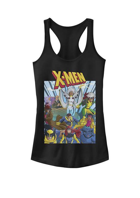 Classic X-Men Comic Book Poster Racerback Graphic Tank