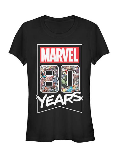 80 Years Anniversary Short Sleeve Graphic T-Shirt