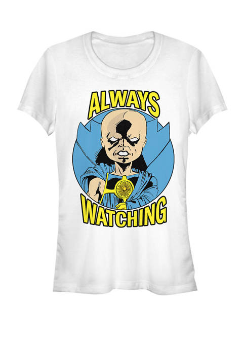 Classic Watcher Always Watching Short Sleeve Graphic T-Shirt