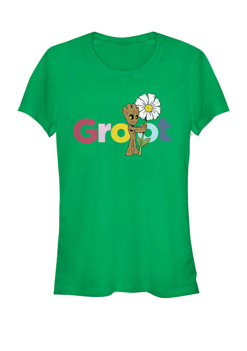 Guardians Of The Galaxy Groot Daisy Short Sleeve