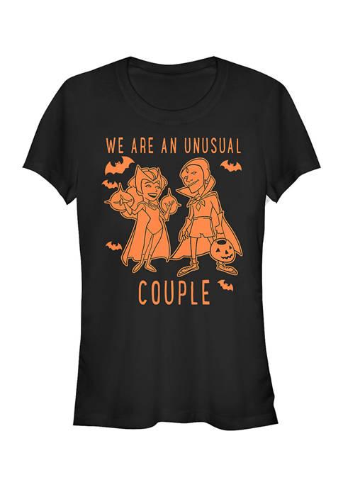 Wanda Vision Juniors Couple Coloring Graphic T-Shirt
