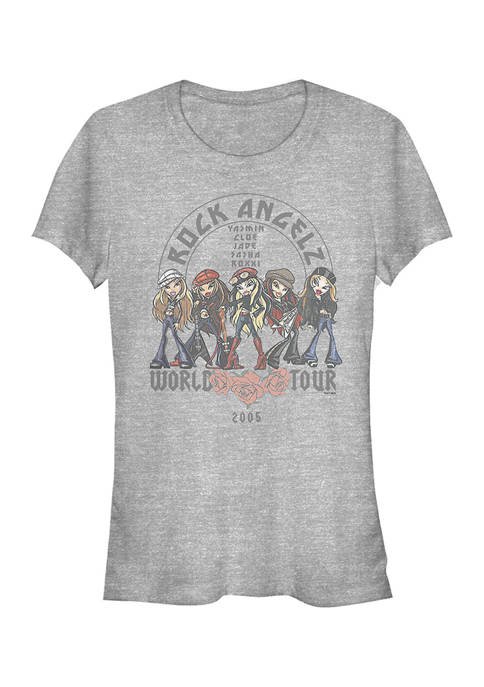 Bratz Juniors Rock Angelz World Tour Graphic T-Shirt
