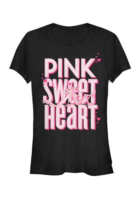 Pink Panther Juniors SweetHeart T-Shirt