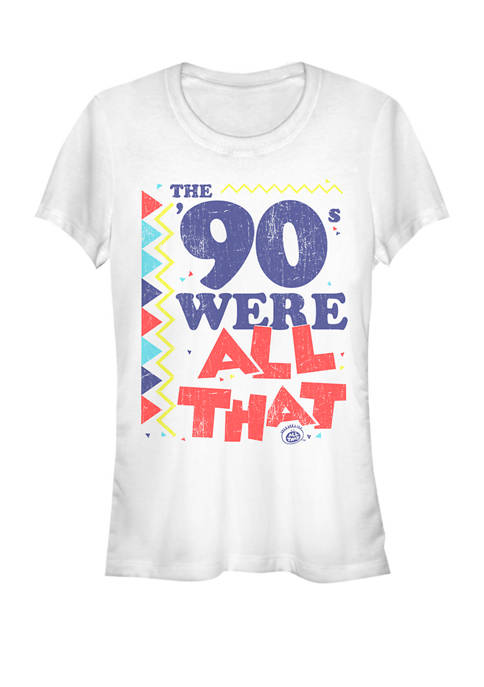The 90s Were All That Retro Short Sleeve Graphic T-Shirt