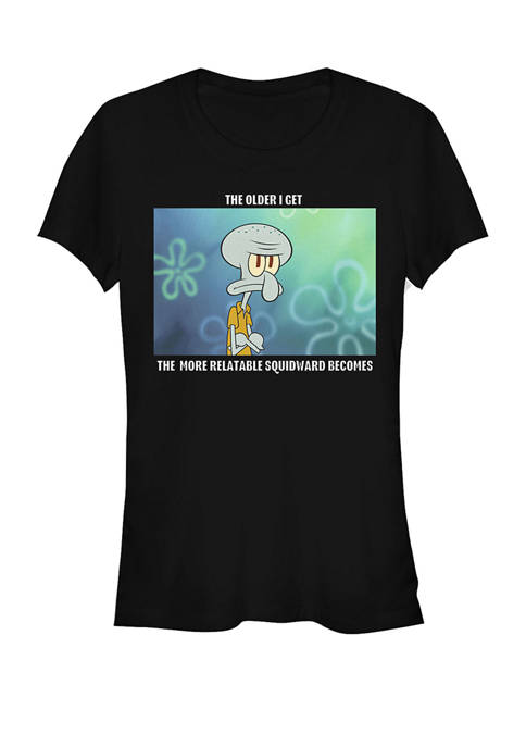 SpongeBob SquarePants Relatable Squidward Short Sleeve Graphic