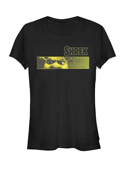 Shrek Angry Ogre Eyes Short Sleeve Graphic T-Shirt