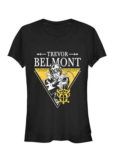 Juniors  Trevor Triangle Graphic T-Shirt
