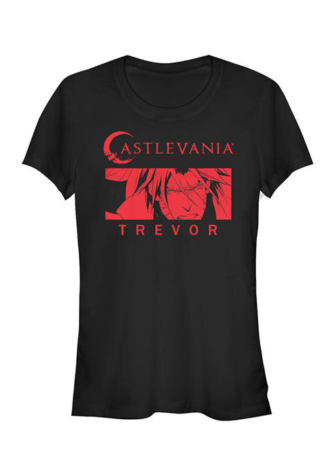 Juniors  Trevor Red Graphic T-Shirt