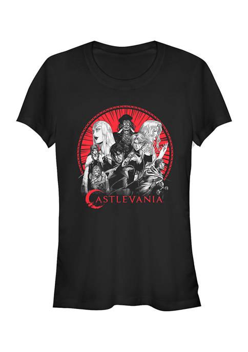 Castlevania Juniors Crew Min Graphic T-Shirt