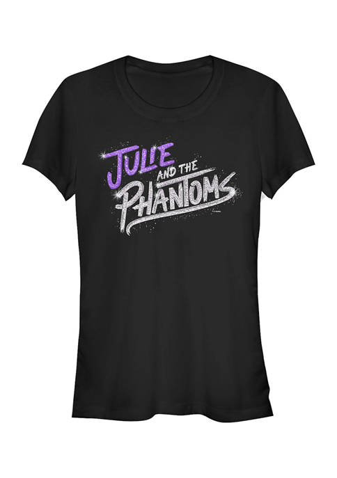 Juniors Julie and the Phantoms Bling Logo Graphic T-Shirt