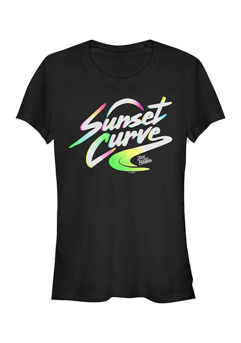 Juniors Julie and the Phantoms Sunset Curve Logo Graphic T-Shirt