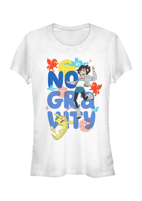 Over the Moon Juniors No Gravity Graphic T-Shirt