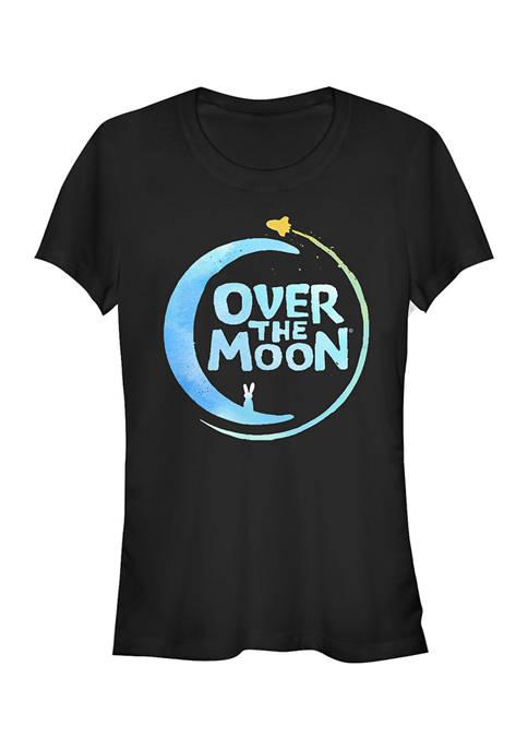 Juniors Over the Moon Logo Alt2 T-Shirt