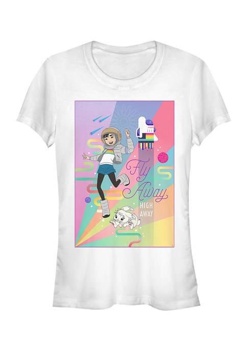 Juniors Over the Moon High Away T-Shirt