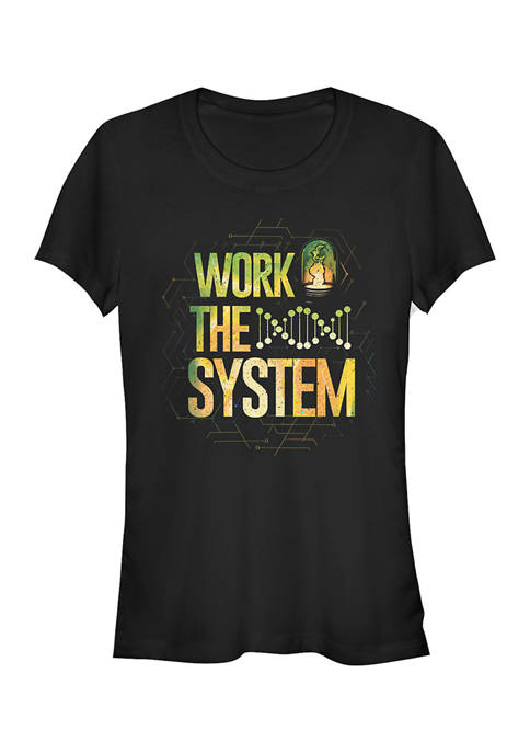 Juniors Project Power Work The System T-Shirt