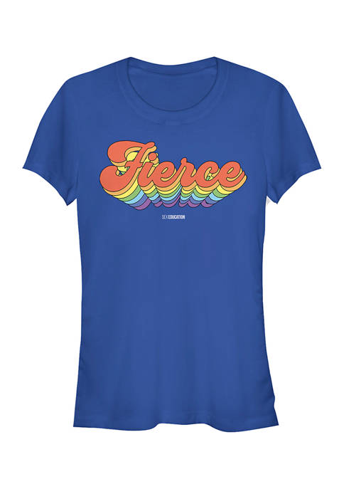 Sex Education Juniors Fierce Graphic T-Shirt