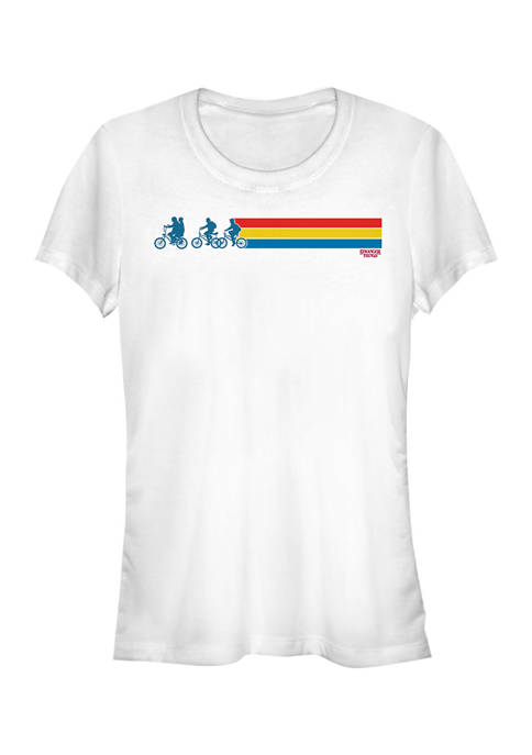 Juniors  Stranger Stripes Graphic T-Shirt