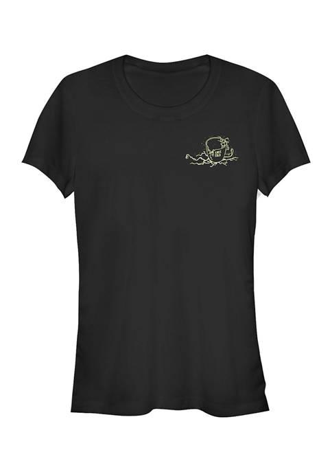 Juniors  Demo Drips Graphic T-Shirt