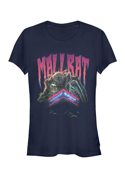 Juniors Mallrat Demogorgan Graphic T-Shirt