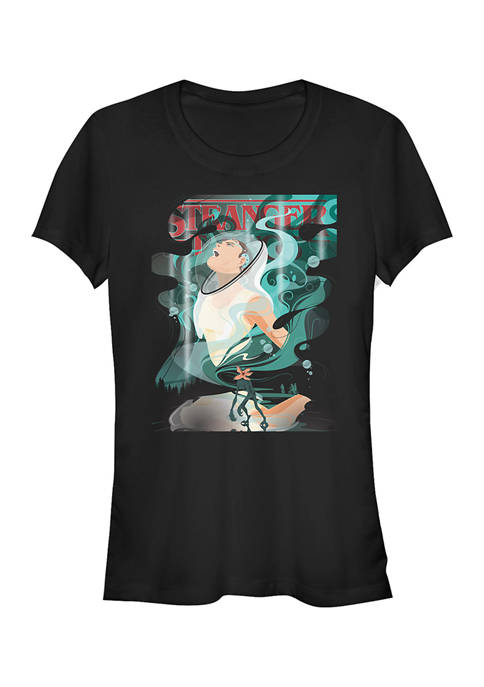 Juniors  Upside Down Eleven Graphic T-Shirt