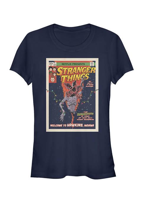 Juniors  Comic Cover T-Shirt