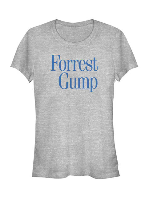 Forrest Gump Classic Movie Logo Short Sleeve Graphic