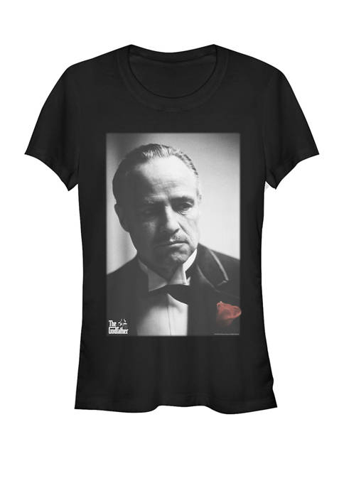 Corleone Rose Portrait Short Sleeve Graphic T-Shirt
