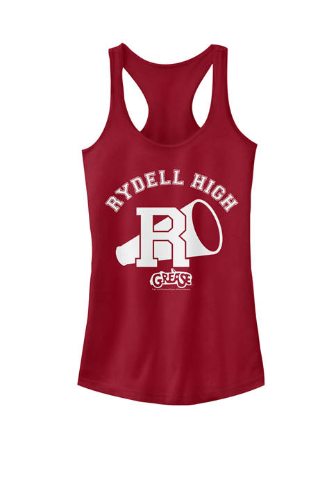 Grease Rydell High School Varsity Logo Racerback Graphic