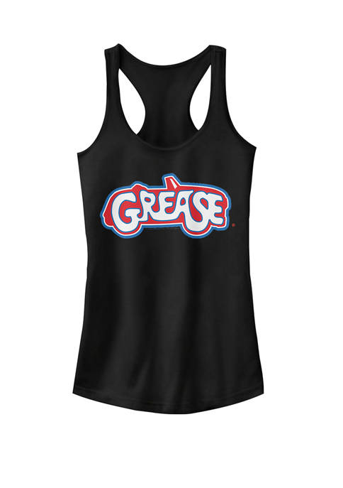 Grease Lightning Car Logo Racerback Graphic Tank