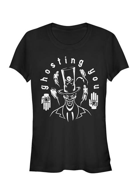 Disney Villains Juniors Facilier Ghosting T-Shirt