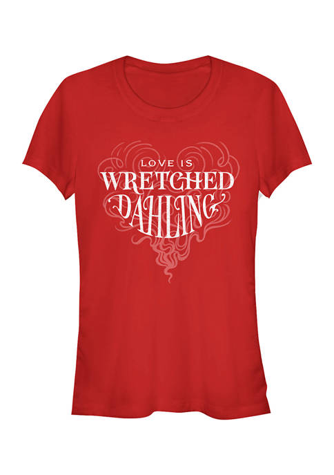 Disney Villains Juniors Love Is Wretched Dahling T-Shirt