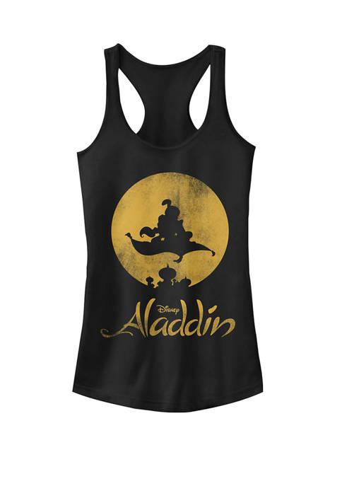 Aladdin Magic Carpet Ride Moon Shadow Racerback Graphic