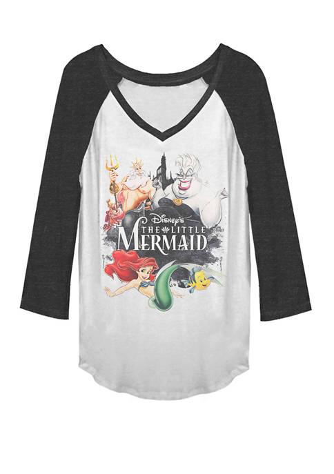 Disney® The Little Mermaid Watercolor Ink Group Raglan
