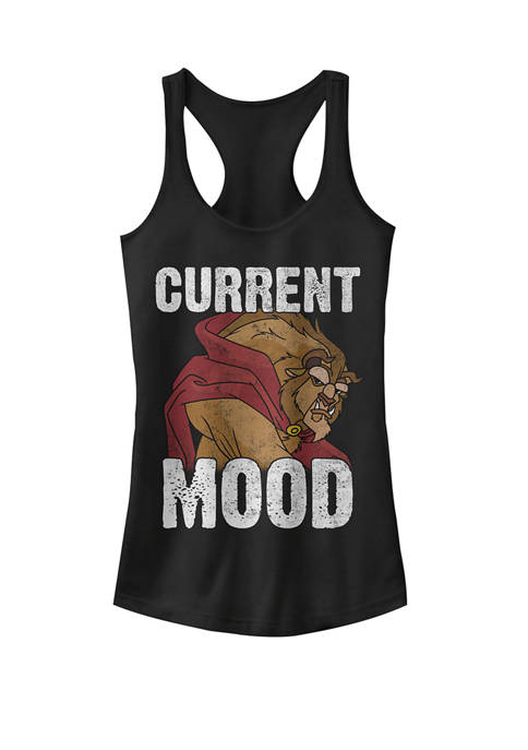 Beauty And The Beast Current Mood Racerback Graphic Tank