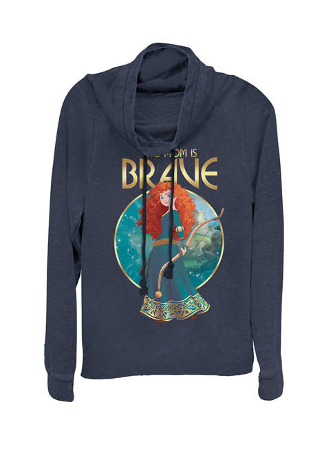 Merida Brave Mothers Day Cowl Neck Graphic Pullover